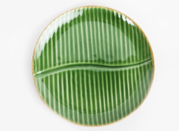 Banana Leaf. Dinner plate & Fresco Products | Banana Leaf
